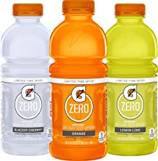 G Zero 3-Flavor Variety Pack, 12 Count