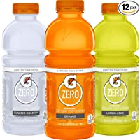 12-Pack Gatorade Zero Sugar Thirst Quencher Orange 20oz