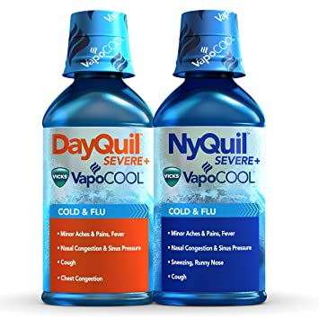 Amazon com: DayQuil and NyQuil Severe with Vicks VapoCOOL