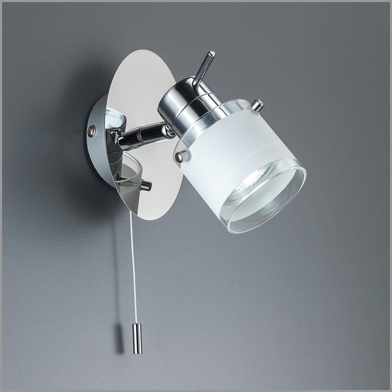 LED Bad Wandleuchte Wandlampe schwenkbar spritzwasser geschützt IP44 ...