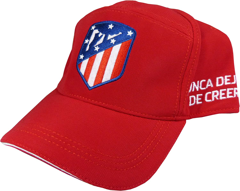 Gorra Oficial Atletico de Madrid - Escudo Nuevo - Nunca dejes de ...