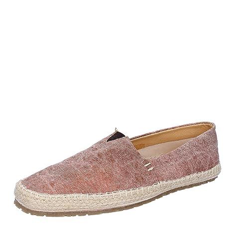NORBERTO COSTA Alpargatas Hombre Textil marrón 41 EU: Amazon.es: Zapatos y complementos