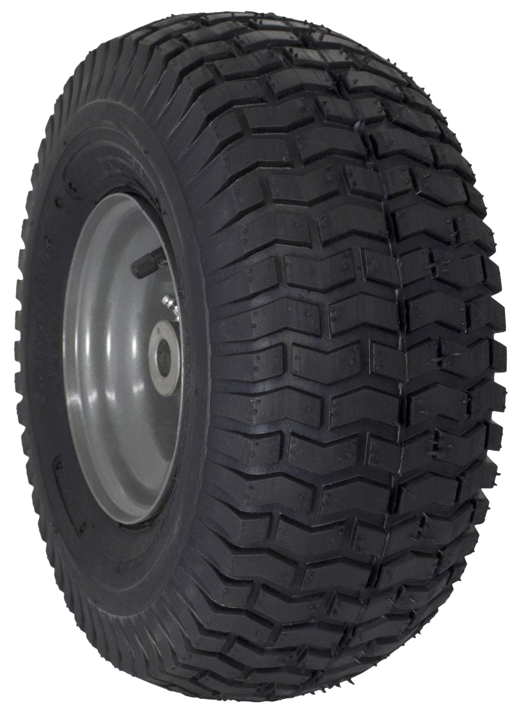 MARASTAR 15x6.00-6'' Front Tire Assembly Replacement for Craftsman Riding Mowers (21446)