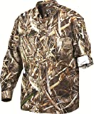 Men's Drake Vented Long Sleeve Wingshooter's Shirt Xxl DW261