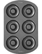 Wilton 2105-0565 - Molde para donas, 6 cavidades
