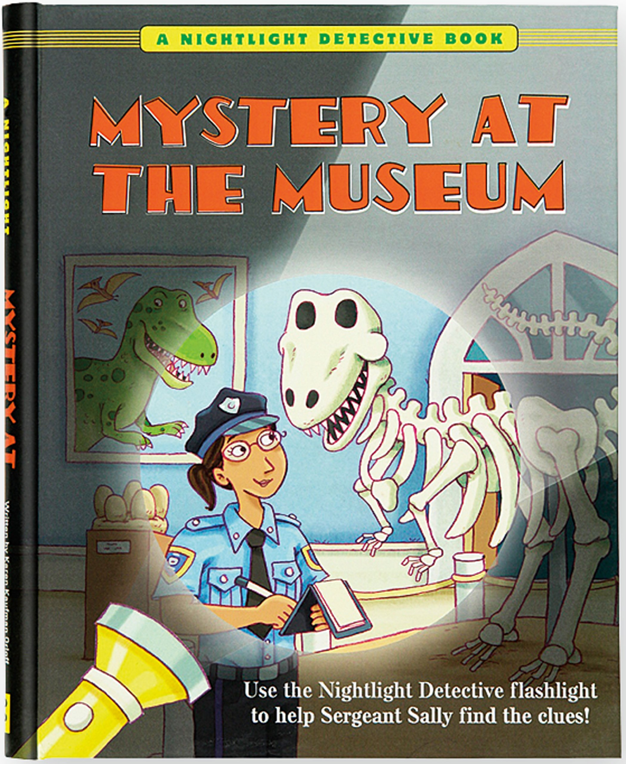 Amazon Com Mystery At The Museum A Nightlight Detective Book