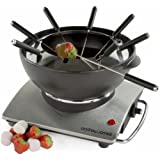 Andrew James Large 1.2 Litre Cast Iron Electric Fondue