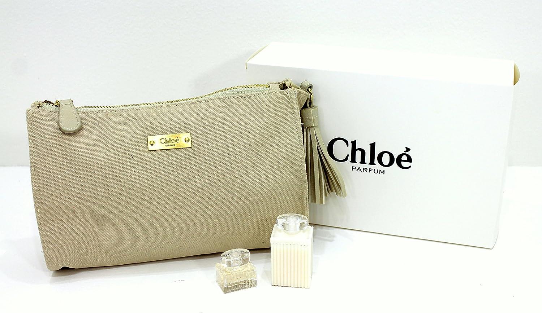 Chloe Parfums grande Make Up Bolsa/Bolsa Con 5 ml EDP & 30 ml Loción. Nuevo y en caja: Amazon.es: Belleza