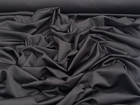 b6ff76df39b PRESTIGE Plain Scuba Stretch Fabric Sportswear Polyester Spandex Mix Padded  Fabric Clothes, Arts And Crafts Use 60