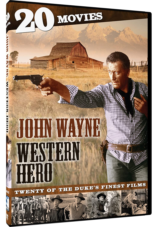 John Wayne: Western Hero – 20 Movies Various MillCreek Drama Westerns