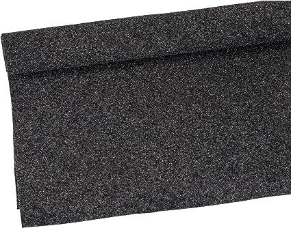 16ft x 3.75ft backed BLACK car Speaker Box Custom Amp Rack /& Trunk Liner Carpet