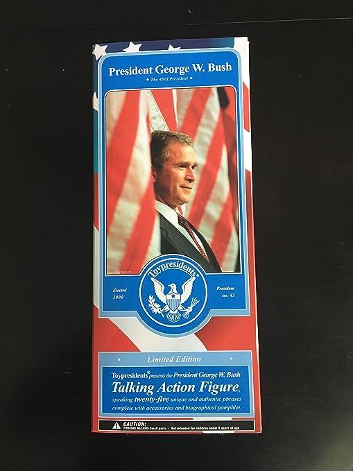 Amazon Com Toypresidents Inc George W Bush Talking Action Figure