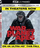 War For The Planet Of The Apes (Bilingual) [4K Blu-ray + Digital Copy]