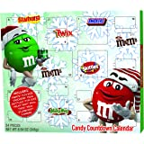 2019 Mars Christmas Advent Calendar with Assorted Candy M&M's, Snickers, Skittles, MilkyWays, chocolate Caramel Candy…