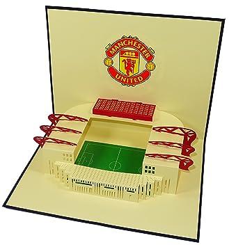Manchester United Stadium Old Trafford Stadium Design 3D Pop Up ...