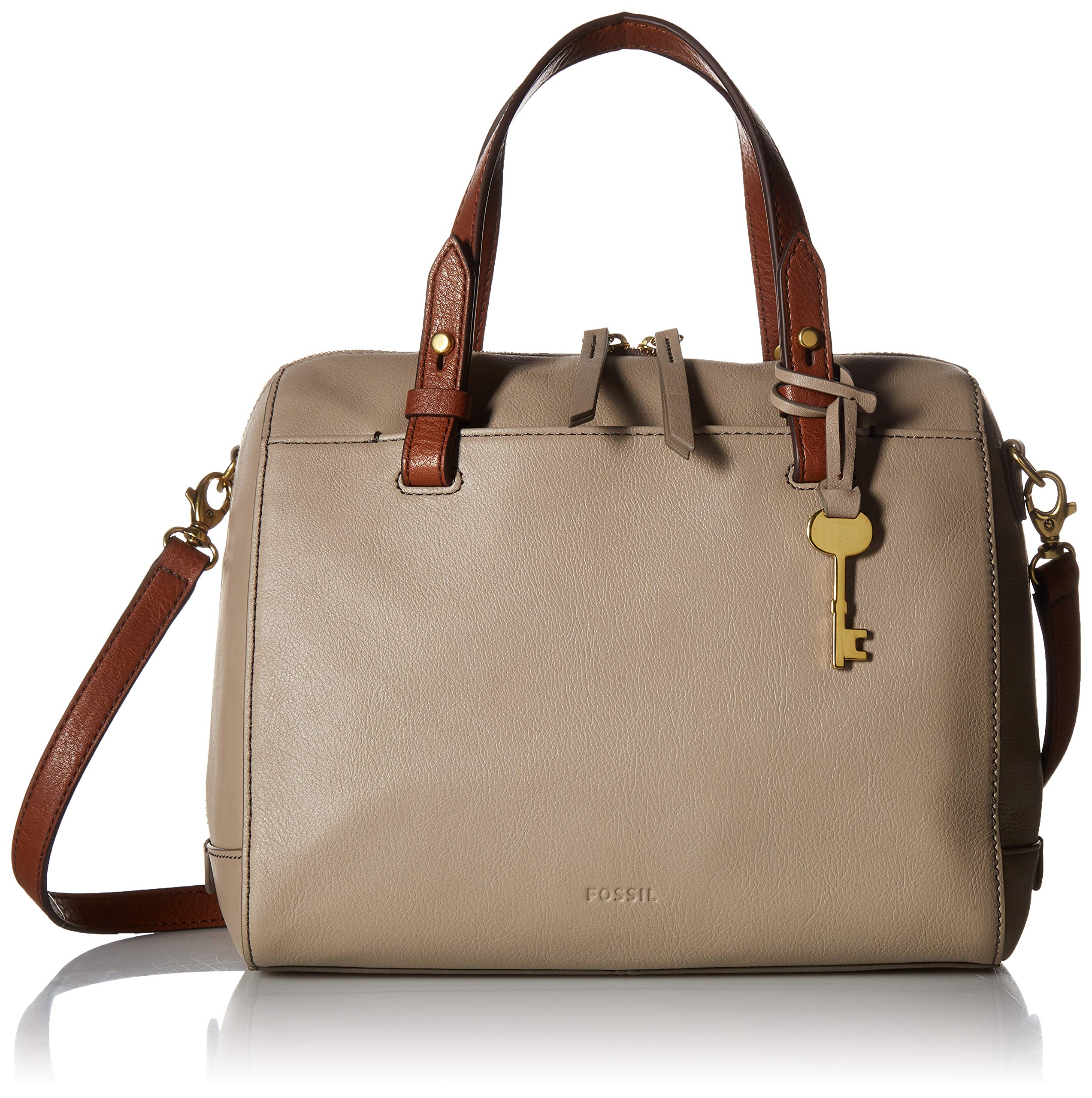Fossil Rachel Satchel Light Taupe, One Size