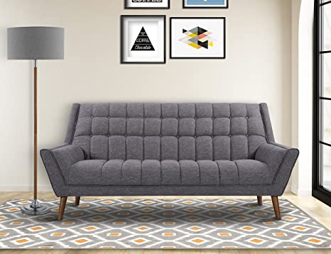 Amazon.com: Armen Living Cobra sofá: Kitchen & Dining