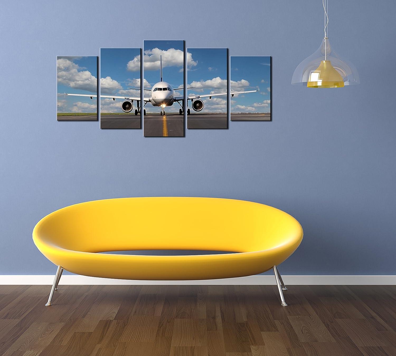 Amazon.com: Pyradecor Modern 5 Piece Large Landscape Skyline ...