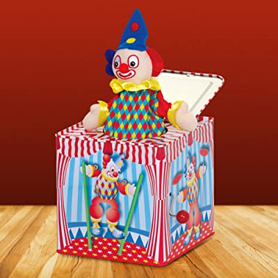 Tobar Clown Jack in The Box: Toys & Games
