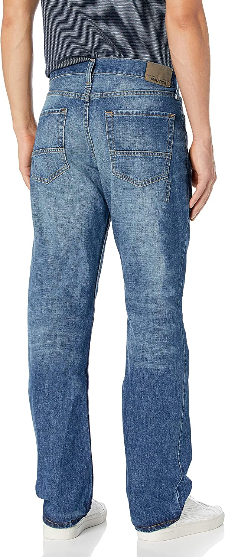 Nautica Herren Straight Fit Jeans Medium Blue Frost