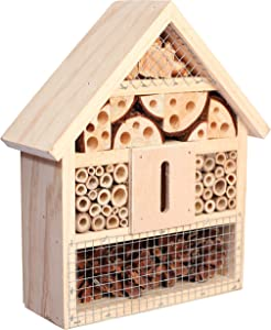 Niteangel Natural Wooden Hotel Bee Bug House/Hotel (Classic)