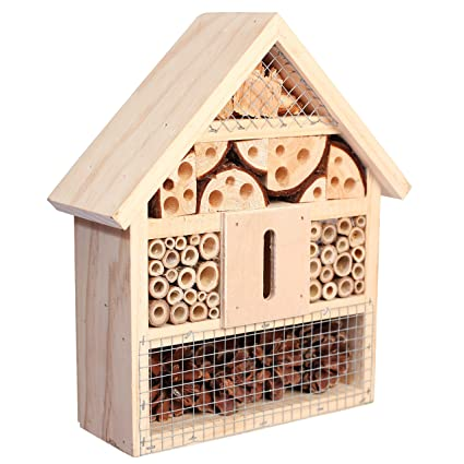 Niteangel Natural Insect Hotel Bee Bug House/Hotel (Classic)