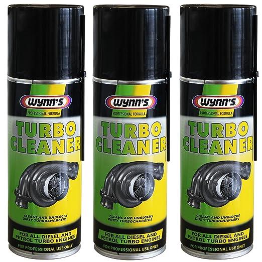 3 Wynn de limpiador de turbo para Gasolina y Diesel turbochargers 200 ml aerosol Wynns 28679: Amazon.es: Coche y moto