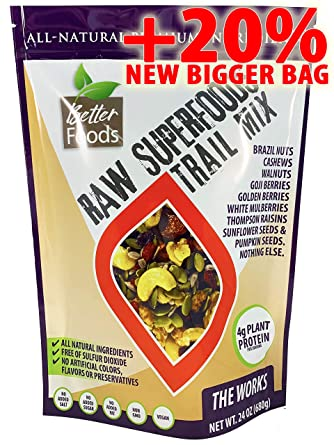 Mezcla de frutos secos Raw Superfoods: Amazon.com: Grocery ...