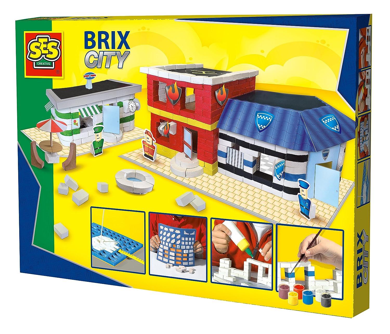 SES Creative - Brix City, Set de Juego, (14589)