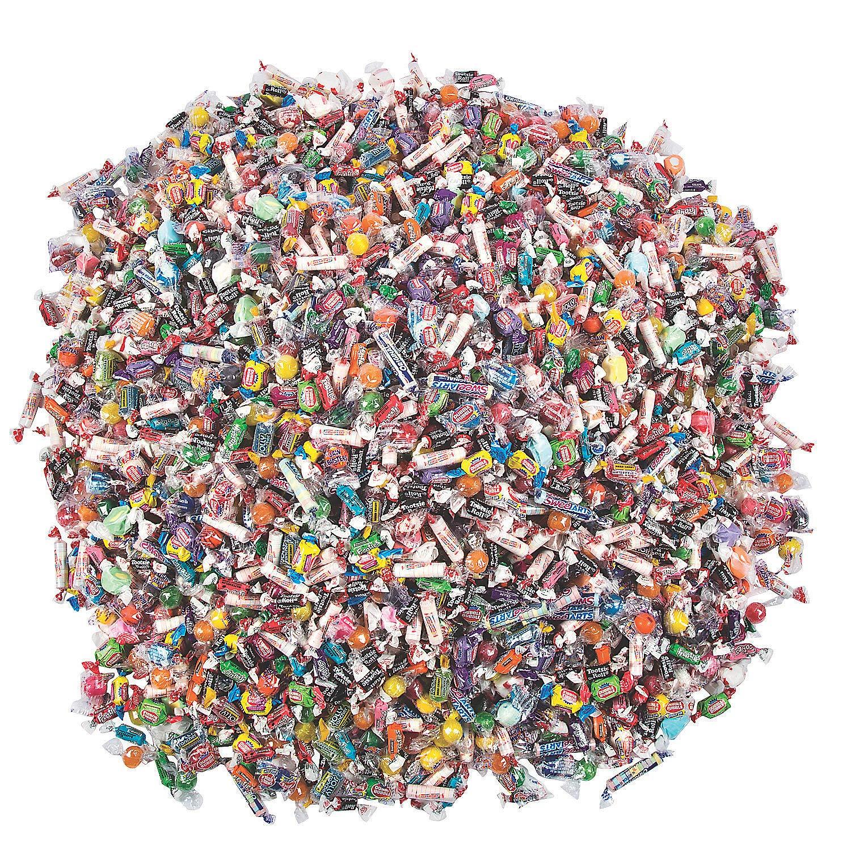 3000 Piece Bulk Candy Mix (27 lbs) Parades, Pinata and Halloween Assortment by Fun Express