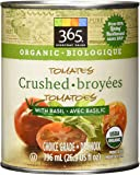 365 Everyday Value Organic Crushed Tomatoes with Basil, 26.9 oz