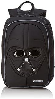 Disney Star Wars Ultimate S+ Junior Mochila Infantil, 10 litros, Color Negro