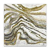 World Art, TWAS442X1, Astratto, Dipinti su telaio estetico, 100 x 100 x 3.5 Cm