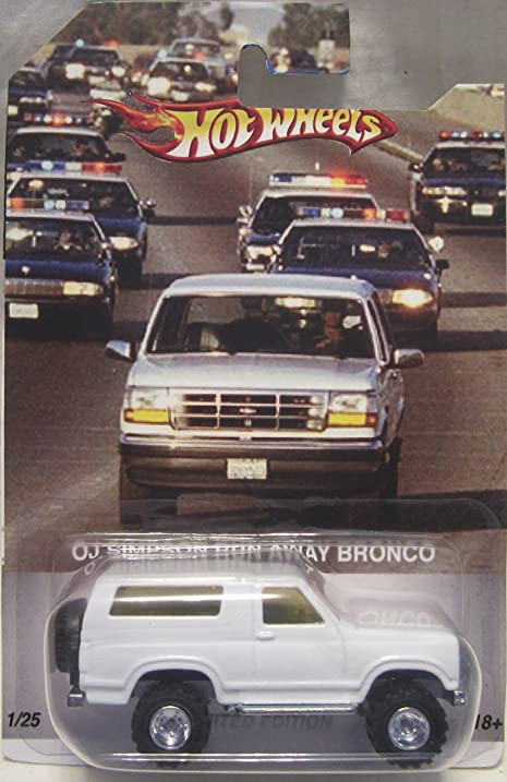 Oj Simpson Bronco Year