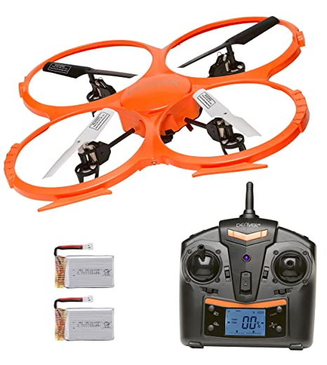 Denver DCH-330 Drone - Batería doble cargadora con cámara, 2 ...