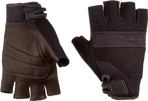Joe Rocket - 1340-1004 Vento Men's Fingerless Motorcycle Riding Gloves