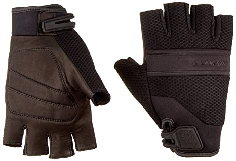 f4b6e9e3f Image Unavailable. Image not available for. Color: Joe Rocket Vento Men's  Fingerless Motorcycle Riding Gloves (Black ...