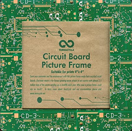 Amazon Terracycle Circuit Board Picture Frame 4x4 Single