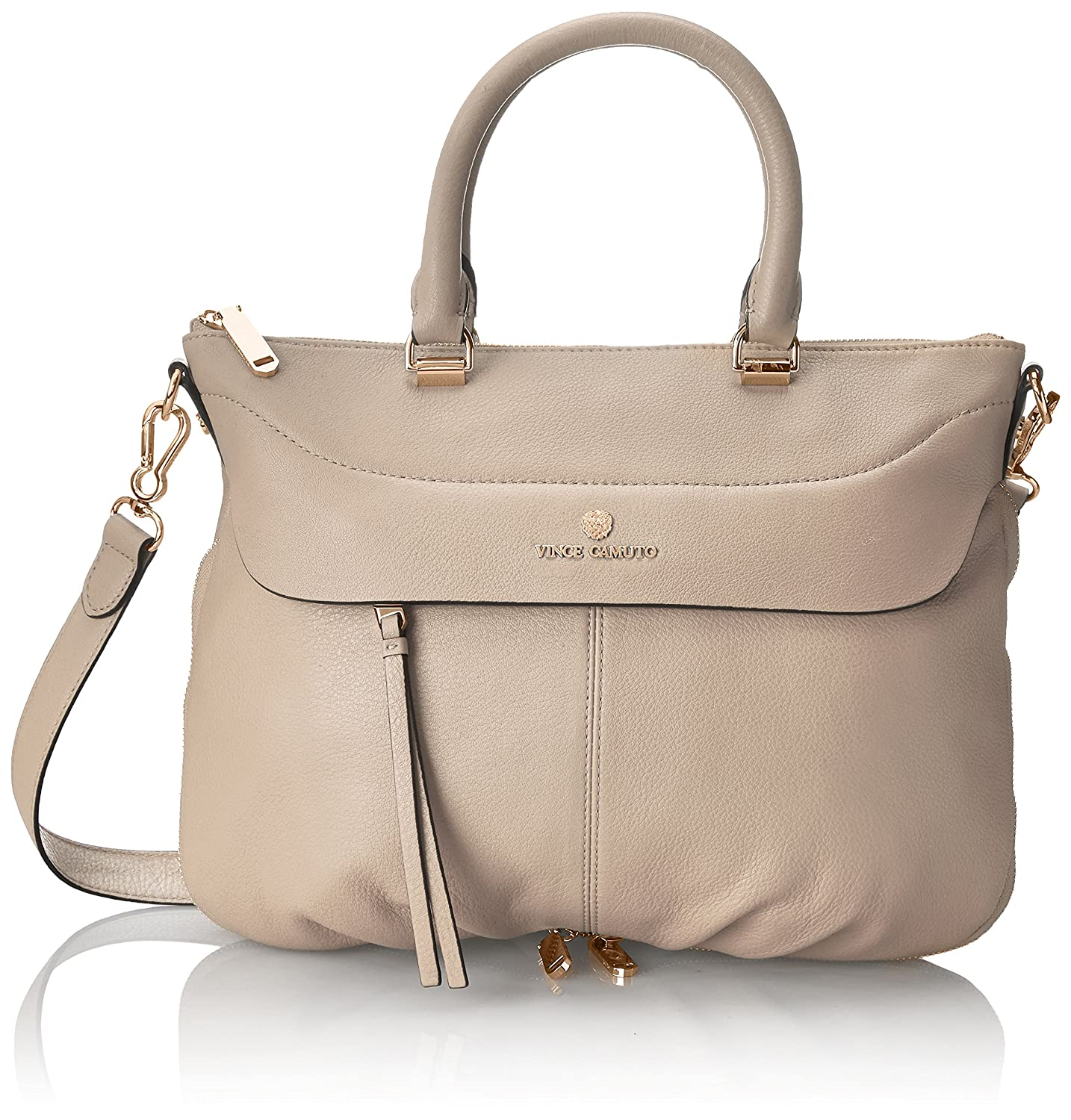88356ef94c3c Amazon.com: Vince Camuto Dean Satchel: Clothing