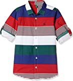 United Colors of Benetton Boys' Striped Regular Fit Shirt