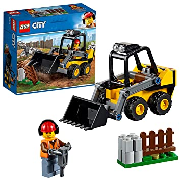 Lego 60219 City Great Vehicles Construction Loader Building Set Toy