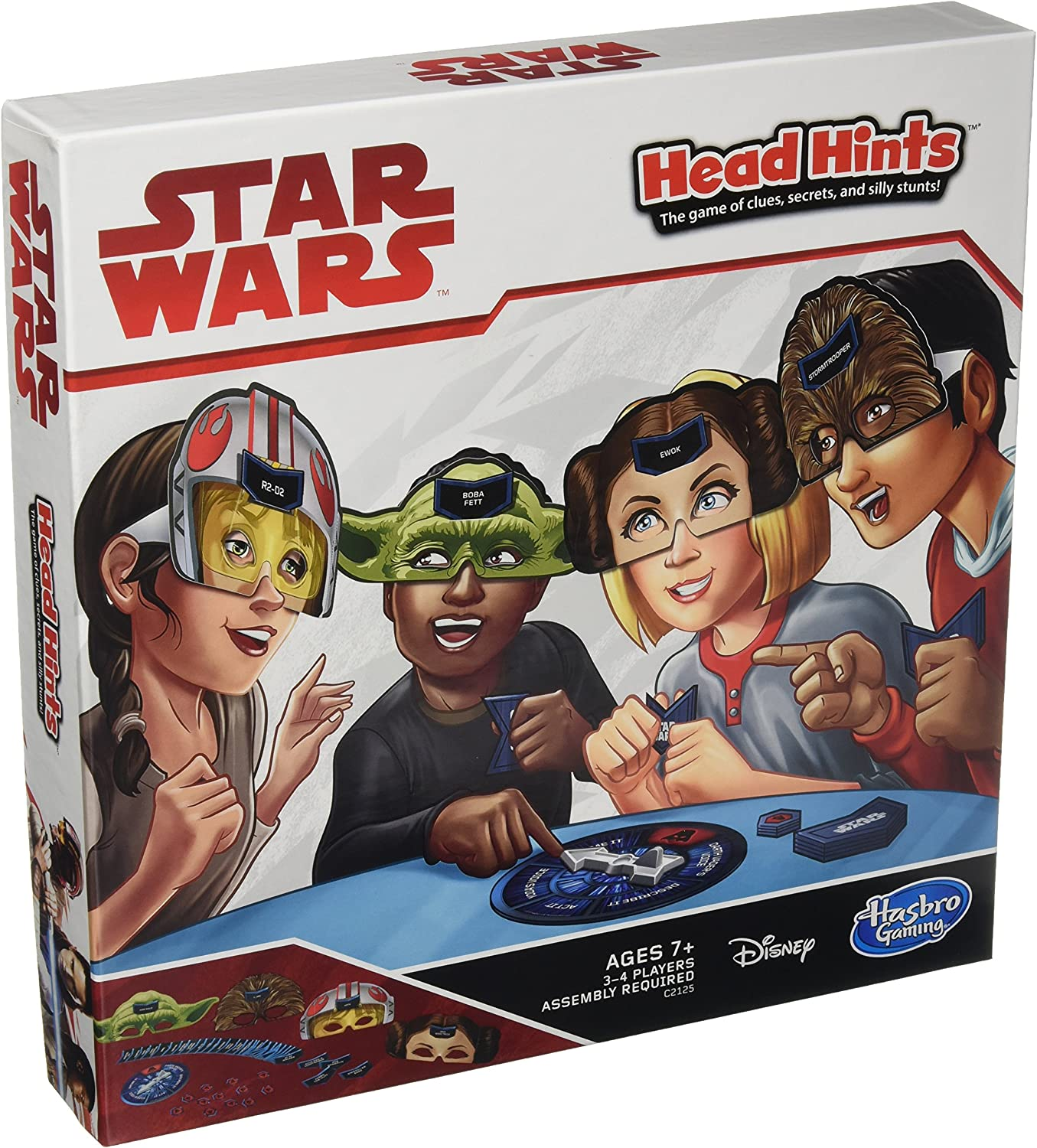 Hasbro Gaming Head Hints: Star Wars Edition