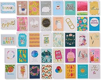 Amazon.com: American Greetings - Surtido de tarjetas de ...