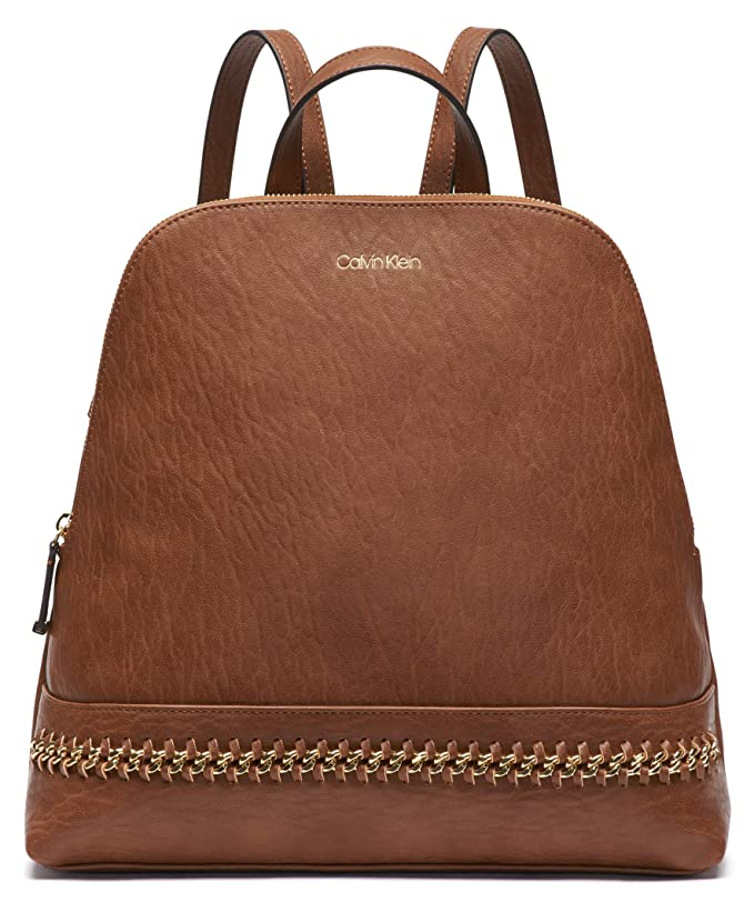 ac84edddbc Amazon.com: Calvin Klein Sonoma Bubble Lamb Zip Around Backpack, Black:  Clothing