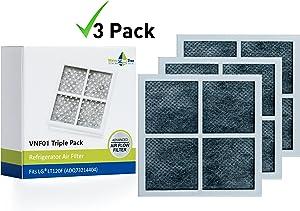 LG LT120F, ADQ73214402, ADQ73214404 - 3 x Replacement Refrigerator Air Filter - Triple pack