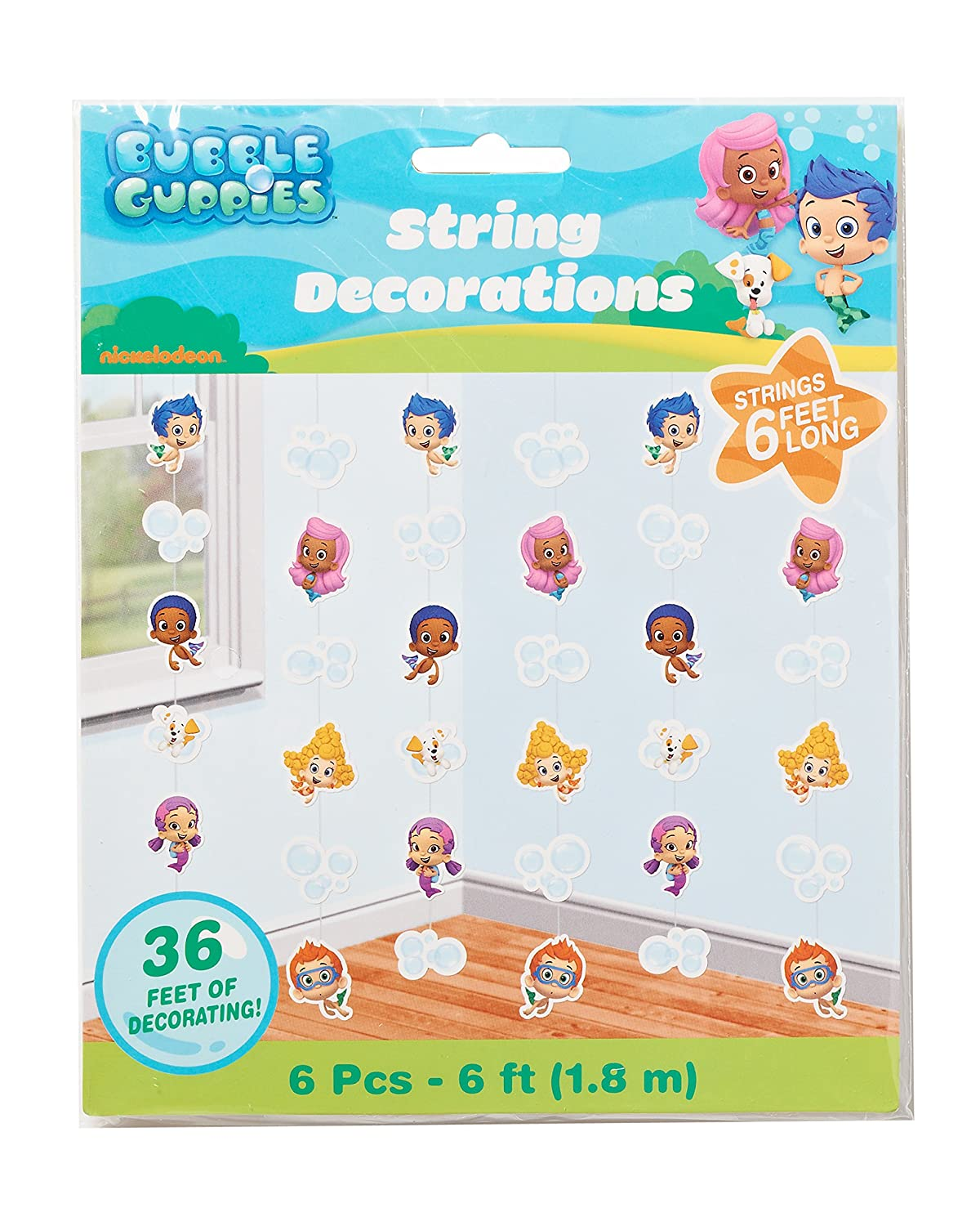 Bubble guppies hanging party decorations decorations amazon canada amipublicfo Images