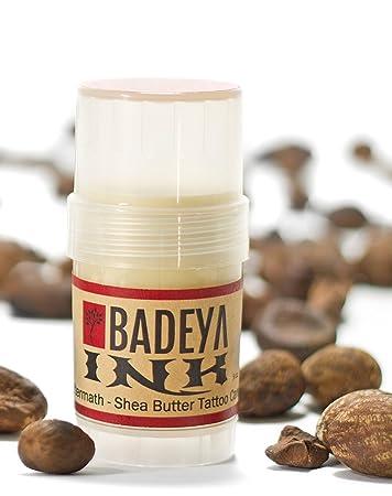 Amazoncom Badeya Ink Aftermath Shea Butter Tattoo Treatment No