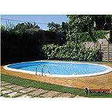 Gre KPEOV5059 - Piscina interrata Gre Madagascar ovale 500x300x150 cm