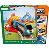 BRIO 33974 World-Smart Tech Sound-Action Tunnel Circle Set