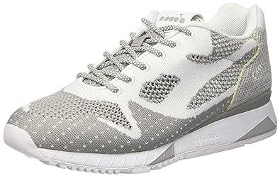 Diadora V7000 Weave II, Chaussures de Gymnastique Homme, Blanc Cassé (Bianco), 44.5 EU